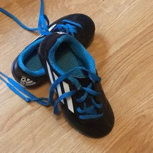 Boys adidas soccer cleats. Size 10 1/2.